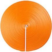 Лента текстильная для ремней TOR 75 мм 10500 кг (оранжевый) фото