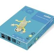 Бумага цветная iq color A4, 80г/м2, ab48-светло-синий 500л. AB48-80 фото