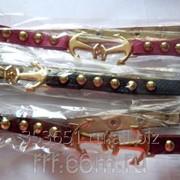 Супермодные браслеты бижутерия с якорями .409 фото