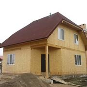 Дома дачные. Панельные дома. Канадская технология. Дома каркасные деревянные фото