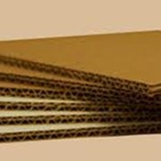 Гофрокартон пятислойный фото