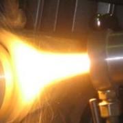 Напылительная горелка УПНМ, для порошковой покраски и напыления упрочняющих покрытий фото