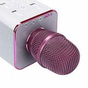 Беспроводной караоке микрофон Tuxun Q7 - Розовый фото
