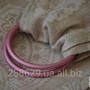 Слинг с кольцами для новорожденных и старше тм Наш слинг Молочный коктейль жаккардовый фото
