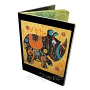 Оригинальная обложка для паспорта Носорожик фото