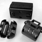 Ферриты разрезные с защёлкой для круглого кабеля SMLF-35 фото