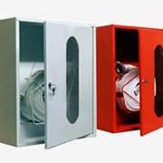 Шкаф пожарный для рукава однодверный фото