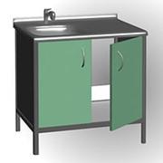 Стол лабораторный с мойкой Стандарт МЛ 03 фото