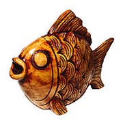 Копилка Золотая рыбка 43*35 см фото