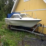 Шведский катер ORNVIK 530 HT с подвесным мотором Mercury 80 фото