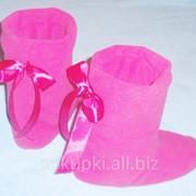 Тапочки - сапожки Розовые фото