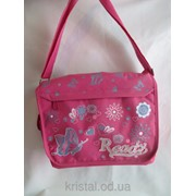 Школьная сумка через плечо , код 10178 фото