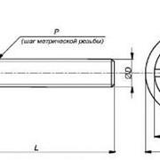 Винты для мебельной фурнитуры с полукруглой головкой. фото