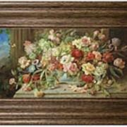 "Картина Ханс Зацка ""Букет цветов"" 53х33см. арт.BD6-8 Dekor Toskana фото"