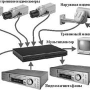 Система видеонаблюдения и пожарной сигнализации (монтаж, установка, сервисное обслуживание) фото