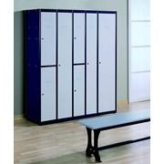 Модульные металлические шкафы для раздевалок фото