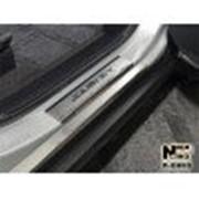 Накладки на пороги VW Polo 4 01-09 (NataNiko) фото