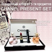 Подарочный набор косметики 5 в 1 от Chanel фото