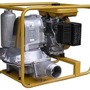 Мотопомпа диафрагменная бензиновая PTG307D фото