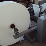 Оборудование для производства бумажных салфеток СБС-400 фото