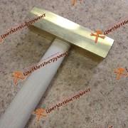 Латунный молоток искробезопасный 0,8 кг фото