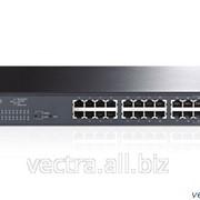Коммутатор TP-Link Smart гигабитный 24-портовый PoE+ с 4 комбо SFP-слотами (TL-SG2424P) фото