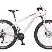 Велосипед Stinger Omega D 27.5 2017 белый фото