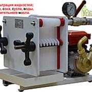 Пресс-фильтр для фильтрации жидкостей F8-V. Сделан в Италии. фото