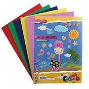 Картон цветной гофрированный А4 deVente 5л., 5 цв., 180 г./м2, 8040515 фото