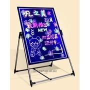 LED-доска, лед-панель, 40*60 см + подставка , Flash-панель для рекламы фото