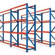 Монтаж складских стеллажей, фото