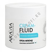 Aravia Aravia Крем-флюид Нежное увлажнение с витаминами Е и С (Parafin) 5000 300 мл фото
