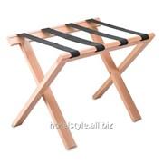 Полка для багажа Класссик, деревянная фото