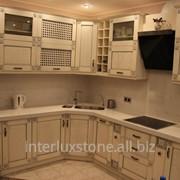 Гарнитур Кухонный с фасадами из массива дерева фото