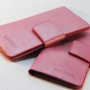 Яркий кошелек из натуральной кожи SHVIGEL (00028) фото