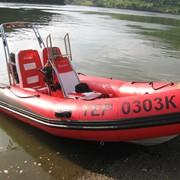 Човен типу RIB (жорсткий надувний човен) фото