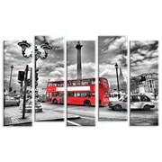 Картина Лондонский автобус фото