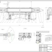Конструкторские разработки любых металлоизделий и штампов с выдачей чертежей на электронных и бумажных носителях фото