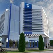 Разработка эскизного проекта 3-х этажного офисного здания общей площадью 1350 кв.м. фото