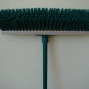 Щётка для чистки улицы,40 см,с черенком,0011,York. фото