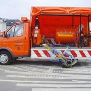 Машина дорожной разметки Шмель 11А фото