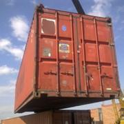 Морской контейнер 40 футов (тонн). Доствка фото