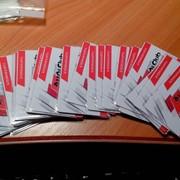 Изготовление дисконтных карт. фото