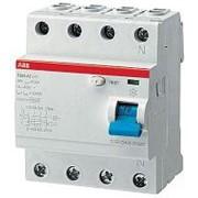 Устройство защитного отключения 4-пол. 40A 300mA тип AC ABB фото