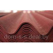 Шифер коричневый восьмиволновой 1750х1130мм. фото