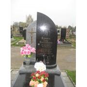 Пам'ятник з мармурової крихти фото