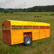 Трап-тележка для перевозки скота ТПС-6 фото