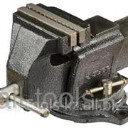 Тиски Зубр Эксперт индустриальные поворотные, 125мм Код: 32703-125 фото