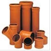 Трубы канализационные фото