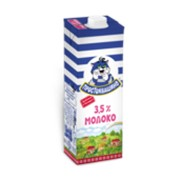 Молоко Простоквашино, 3,2%, 950г фото